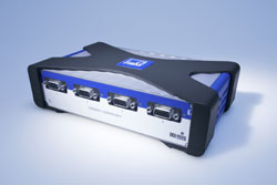 Medición digital de velocidad de rotación y par con clase de precisión de hasta 0,01