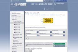 En la tienda online HBMshop hay más de 260 tipos de bandas extensométricas a disposición inmediata