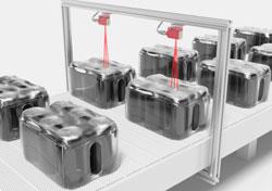 Detección fiable de envases multipack