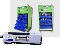 La célula de carga monoplato Zemic utilizada en la Personal Storage Machine